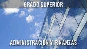 banner ciclo superior Administración y Finanzas