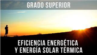Imagen de un atardecer del Ciclo superior Eficiencia Energética y Energía Solar Térmica de la escuela ISBS