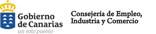 Logo Gobierno de Canarias Consejeria de Consejeria de Empleo Industria y Comercio