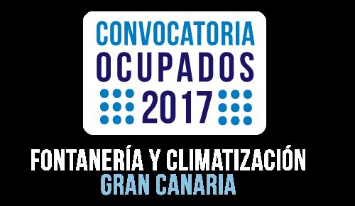 Convocatroia ocupados 2017 de Fontanería y Gran Canaria