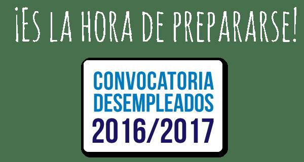 Es la hora de preparase. Convocatoria desempleados 2016/2017 en Instituto Focan